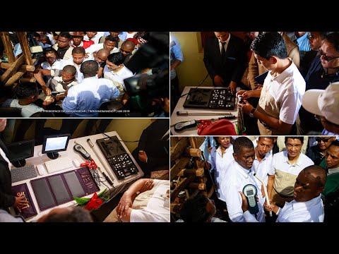 NATOMBOKA TAMIN'NY FOMBA OFOSIALY TAO TSIROANOMANDIDY NY FAMETRAHANA NY « PUCE ELECTRONIQUE »