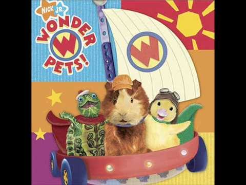Wonder Pets Teamwork Song