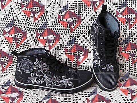 Декор летней обуви своими руками