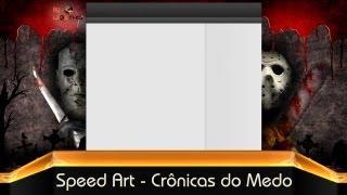 Speed Art - Background Crônicas do Medo