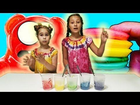 Радужные блины. Девочки из Сказочного Патруля проверяют рецепты Желейного Медведя Валеры Познавателя