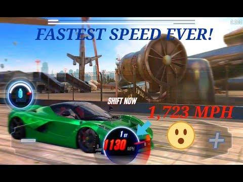 CSR RACING 2 : Fastest Speed Ever 2.008 Sec (1,724 MPH)