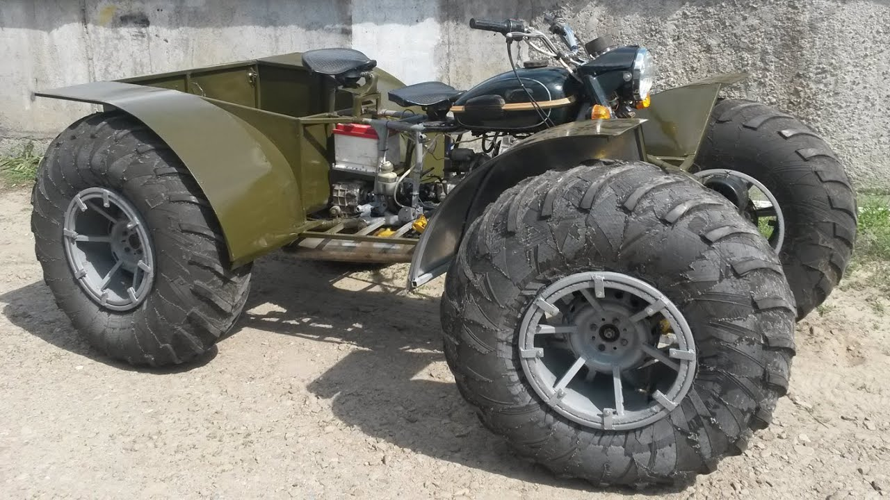 Квадроцикла на базе урала