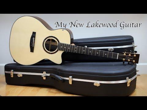 My New Lakewood Guitar 2017【我的生活 vlog 25】