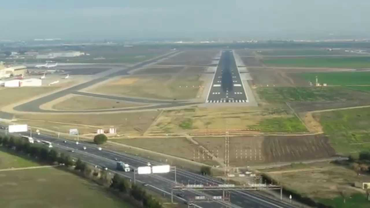 Flughafen Sevilla Abflug