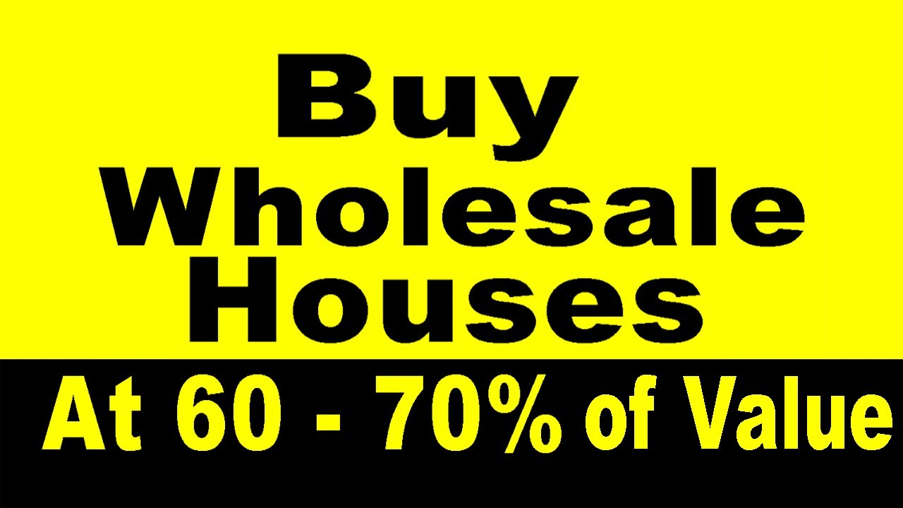 looking for pre foreclosure listings? buy our wholesale houses