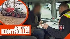 Trecker in Polizeikontrolle: Fahrer hat keinen Führerschein 2/2 | Achtung Kontrolle | Kabel Eins