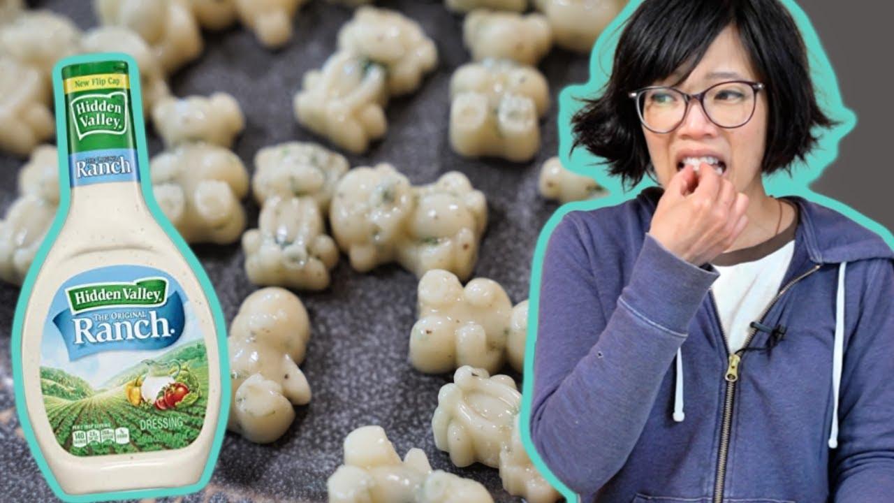 How to Make RANCH Gummy Bears + Bonus Recipe - Hidden Valley Ranch Oyster Crackers