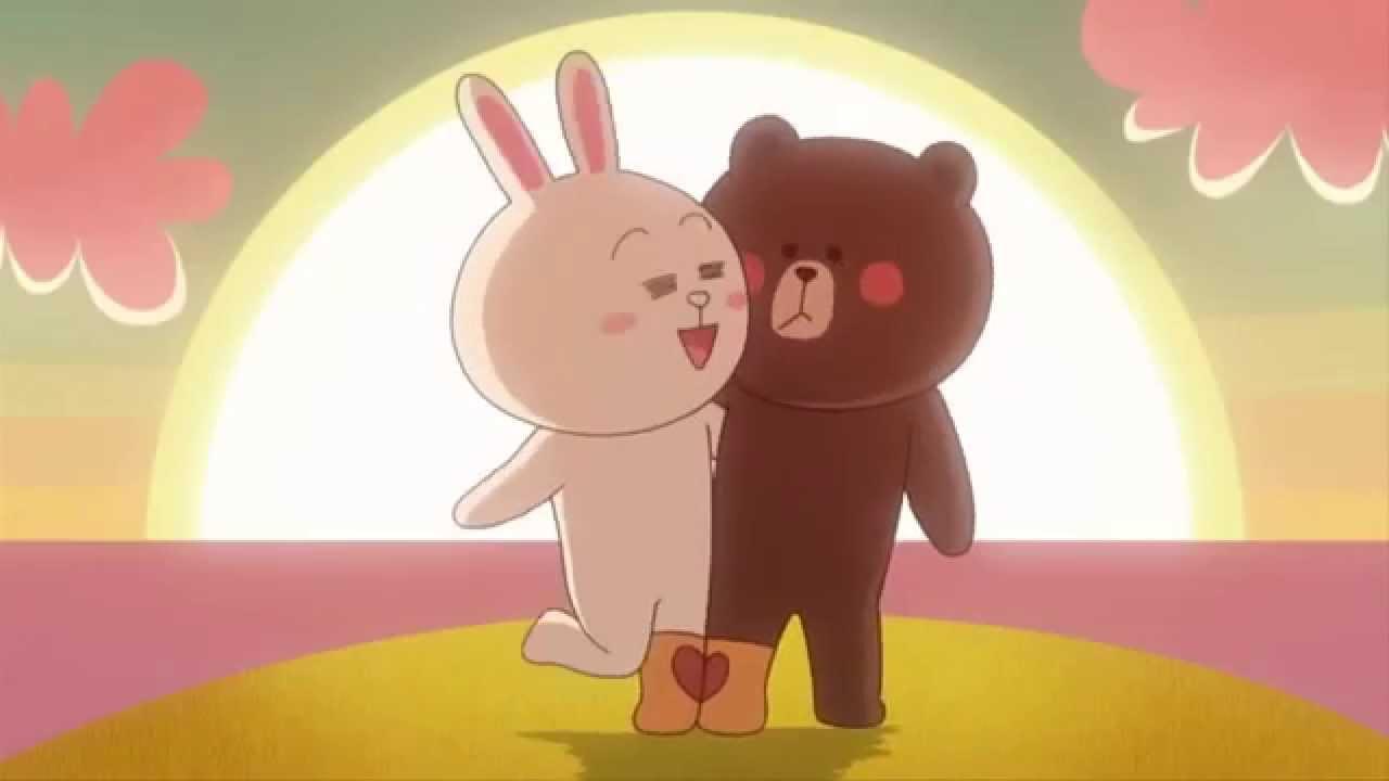 Wallpaper Emoji Cute Cony Brown Line Arti Videography Youtube