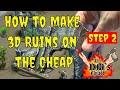DIY 3D Ruins From Cardboard Miniature Terrain Dm S Craft 104 Step 2 mp3