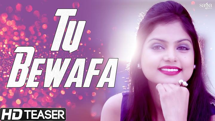 tu bewafa  love feat raja sharma  official teaser  latest punjabi songs 2015