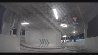 T1 Mall of Tallinn - leaving the parking lot