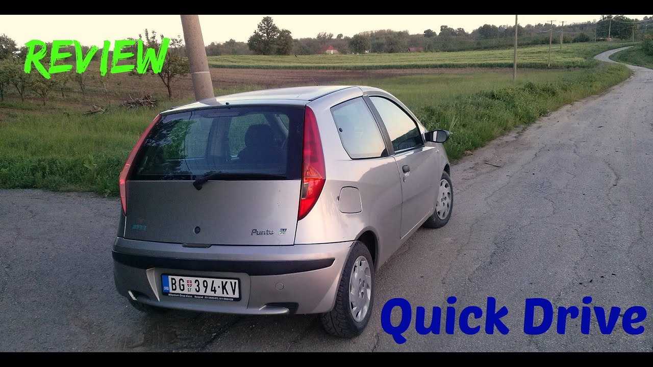 fiat punto 1 9 jtd review and quick drive test i test voznja automobila youtube. Black Bedroom Furniture Sets. Home Design Ideas