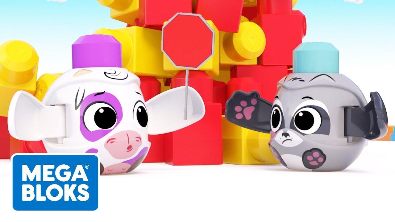 Fisher-Price® Mega Bloks™ | Vache, la Brigadière | +d'épisodes Complet | Dessin Animé