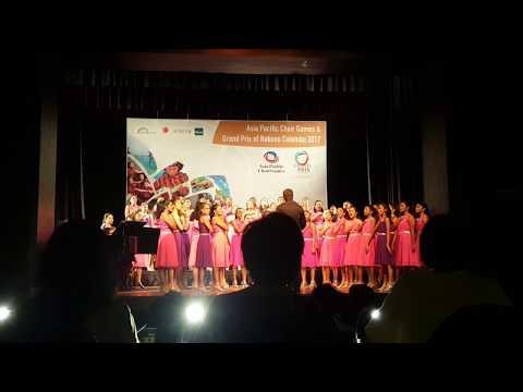 """""""Sililiza"""" Methodist College Choir Grand Prix Winners - 4th Asia Pacific Choir Games"""