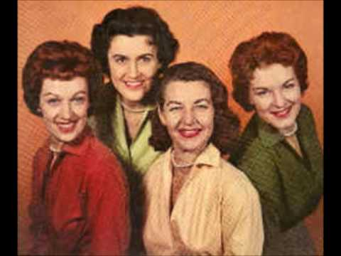 The Chordettes - Oh, Baby Mine (I Get So Lonely) - (c.1954).