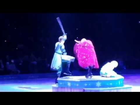"Disney on Ice - Frozen - (Let it go) ""Little Audrey"" Boston TD Garden"