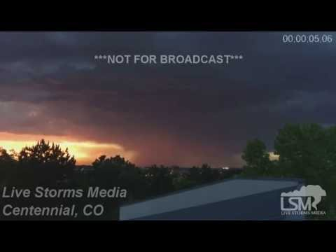 6-9-16 Centennial, CO Thunderstorm