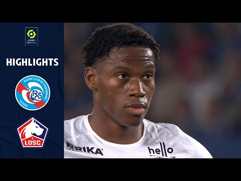 Strasbourg Lille Goals And Highlights