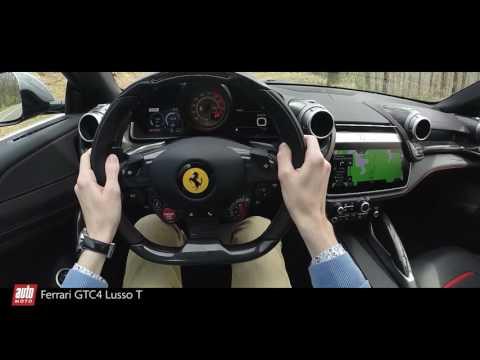 2017 Ferrari GTC4 Lusso T [POV] : chasse et pêche (Acceleration & Sound)