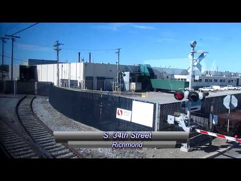 San Joaquin Detour Ride on BNSF & Richmond Pacific, Feb. 1, 2013