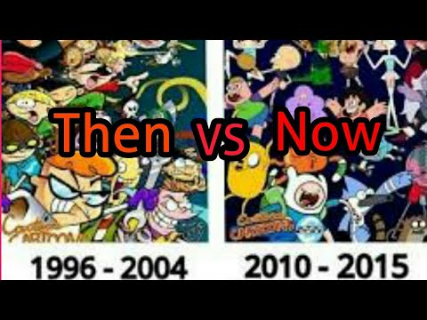 Cartoon Network Shows India THEN VS NOW II In Hindi II - YouTube