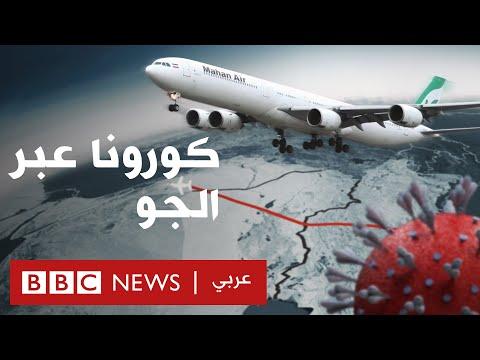 فيروس كورونا عبر الجو: انتشار كوفيد – 19 في الشرق الأوسط
