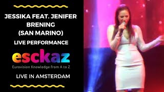 ESCKAZ in Amsterdam: Jessika feat. Jenifer Brening (San Marino) - Who We Are