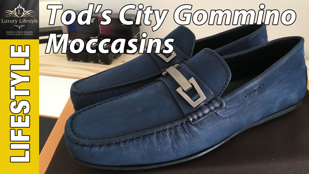 a0ededb475c Tod s City Gommino Moccasins Shoe Review - YouTube