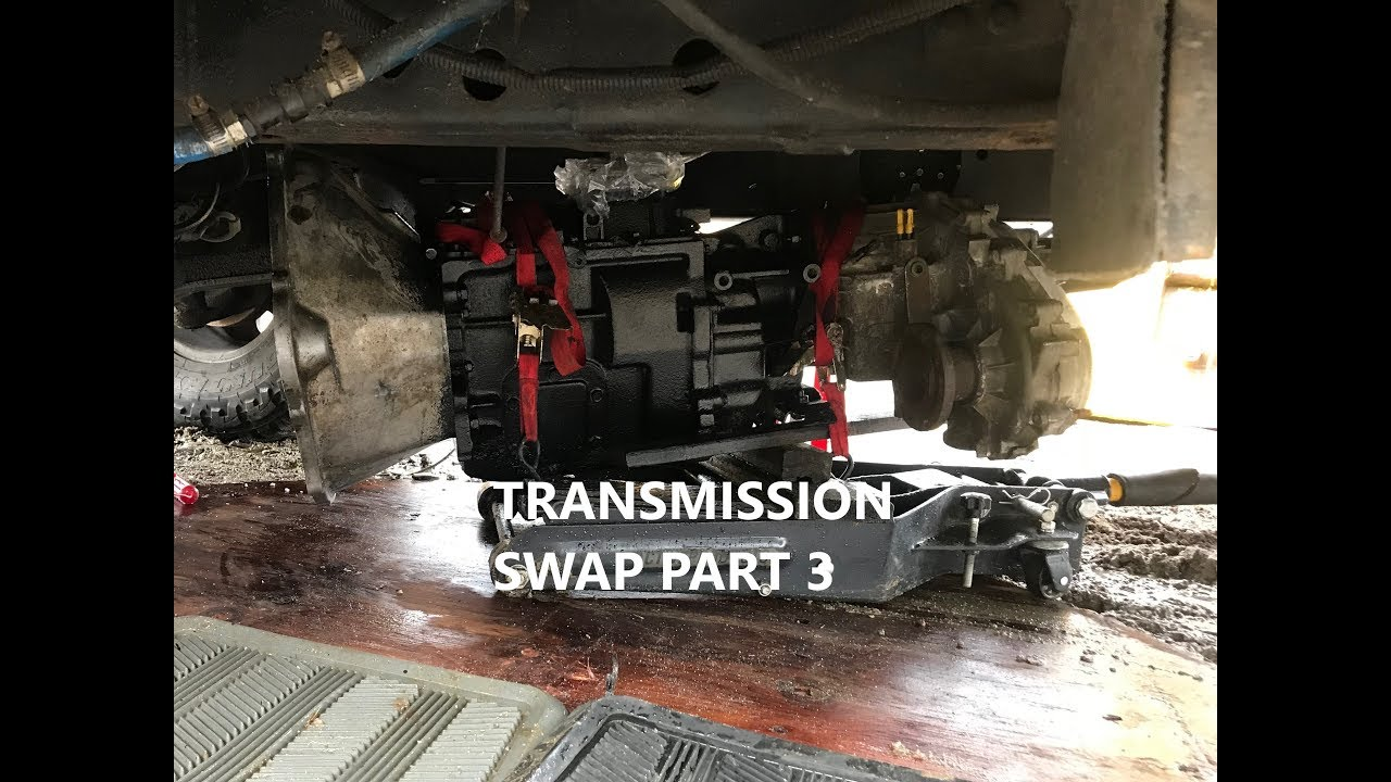 DODGE CUMMINS AUTO TO NV4500 MANUAL TRANSMISSION SWAP PT3