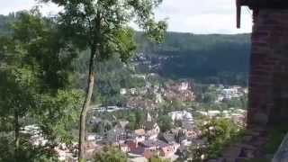 Unterwegs im Nordschwarzwald2014: Bad Liebenzell