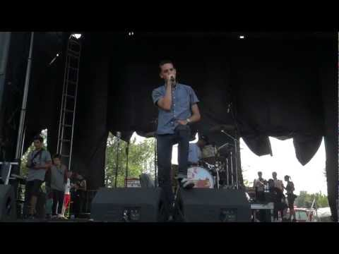 G-Eazy - Marilyn LIVE Montreal Warped Tour 2012