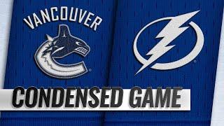 10/11/18 Condensed Game: Canucks @ Lightning