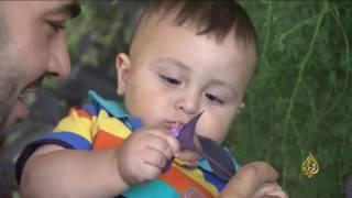 هذا الصباح- شاب فلسطيني أنشأ حديقة معلقة في منزله