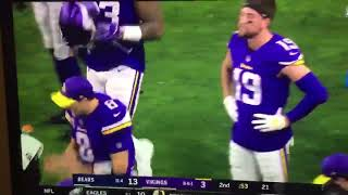 Kirk Cousins gets angry with Adam Thielen over route running