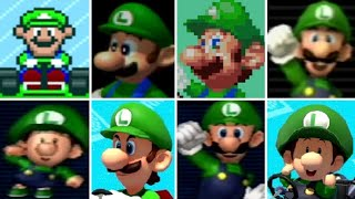 Evolution of Luigi Characters in Mario Kart Games (1992-2017)