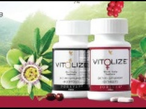 What is the benefit of VITOLIZE for Men and  Women?  by  Dorne Parker