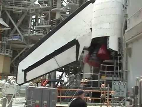 STS-135: More of Atlantis on the launch pad ready for the final space shuttle mission