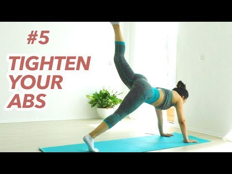Get Tight & Strong Core, Toned Abs & Back | 21 Day Lose Belly Fat Challenge #5