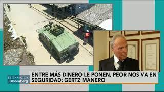Entre más dinero le ponen, peor nos va en seguridad: Gertz Manero