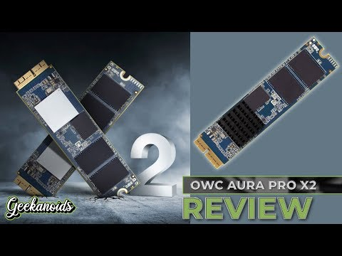 OWC Aura Pro X2 SSD 1TB Upgrade Kit Review