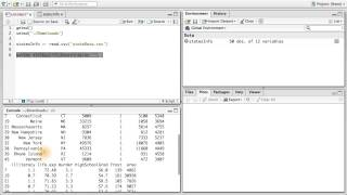 Read and Subset Data - Data Analysis with R