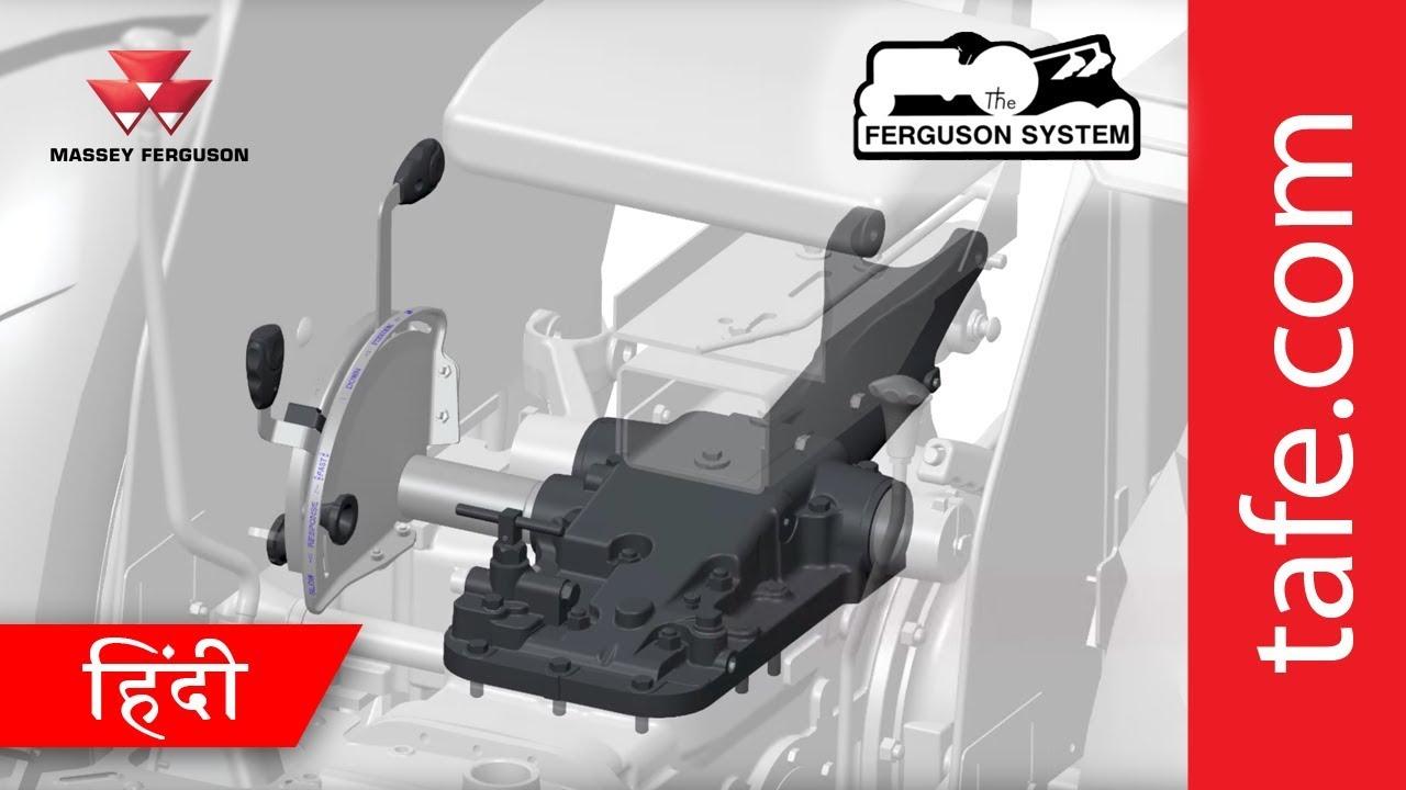 the ferguson hydraulics system hindi  [ 1280 x 720 Pixel ]