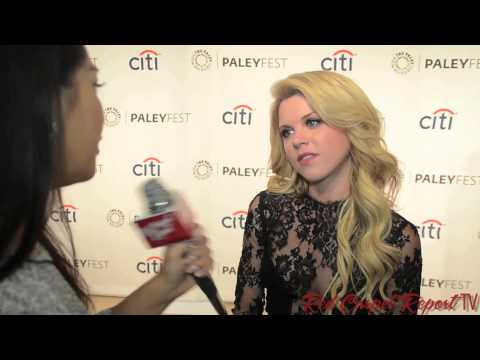 Bailey De Young at PaleyFest Fall TV P for MTV's FakingIt @BaileyBuntain