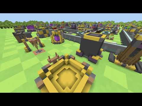 Clash Of Clans Max TH13 Base In Minecraft