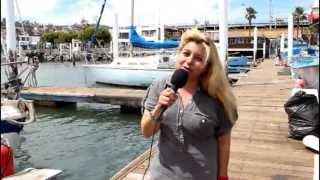 Pesca Deportivia Ensenada con Mariana Hammann en Español