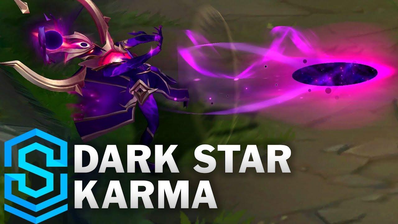 Dark Star Karma Skin Spotlight - Pre-Release - League of Legends