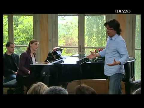 Teresa Berganza Singing Master Class (French, Part 2)