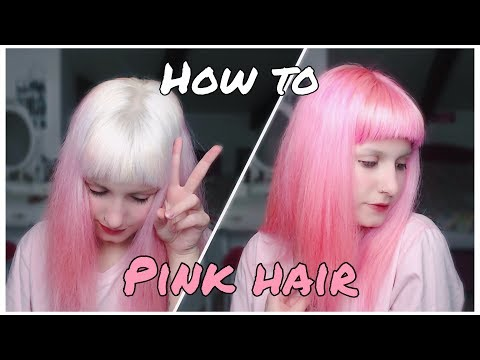 Hair Tutorial || Pink Hair W/ Special Effects - Atomic Pink