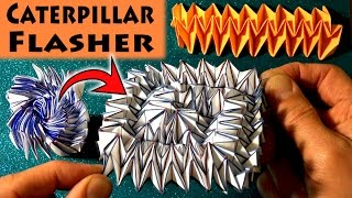 Origami Caterpillar Flasher